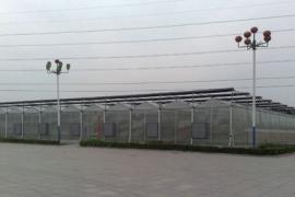 山东寿光市三元朱村观光温室