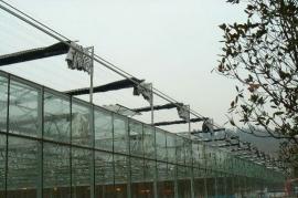 威海紫光科技园文洛式连栋温室