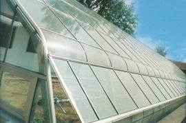 TCWS单坡面日光温室